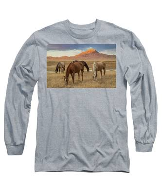 Table Mountain Sunrise Long Sleeve T-Shirt