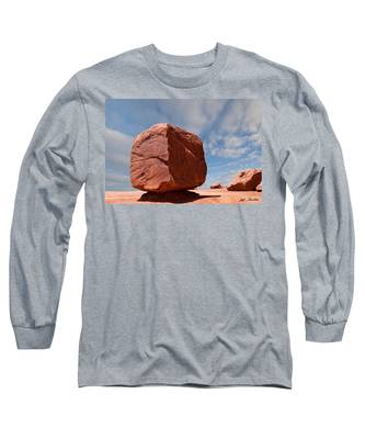 The Cube At Monument Valley Long Sleeve T-Shirt
