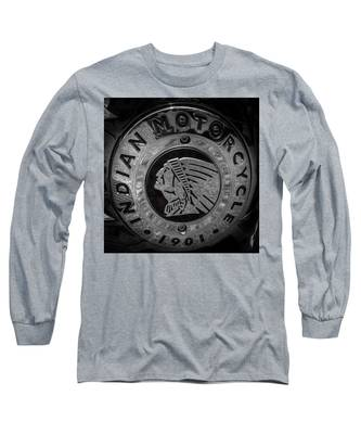 The Indian Motorcycle Logo Long Sleeve T-Shirt