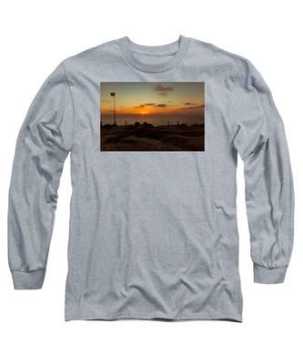 Torrey Pine Glider Port Sunset Long Sleeve T-Shirt