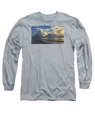 Tranquil Fisherman Long Sleeve T-Shirt