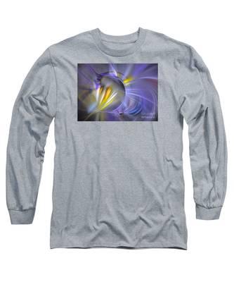 Vigor - Abstract Art Long Sleeve T-Shirt