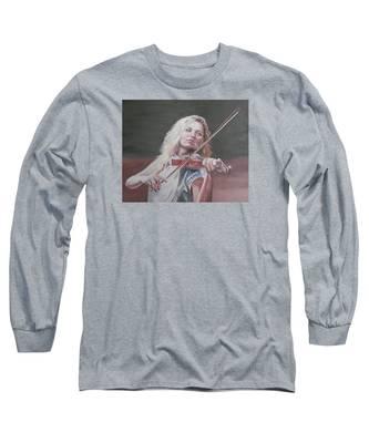 Violin Solo Long Sleeve T-Shirt