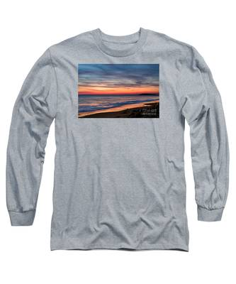 Wales Gower Coast Dusk Long Sleeve T-Shirt