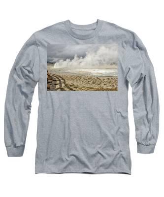 Wall Of Steam Long Sleeve T-Shirt