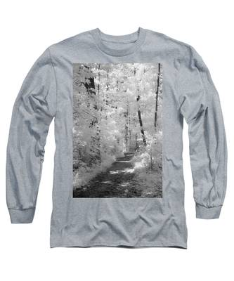 White Path Long Sleeve T-Shirt