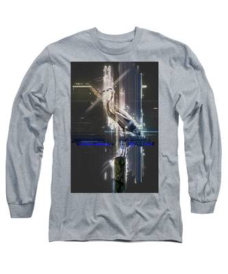 Electric Heron Long Sleeve T-Shirt