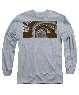 Frank Lloyd Wright - The Rookery Long Sleeve T-Shirt