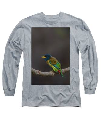 Song Bird Long Sleeve T-Shirts