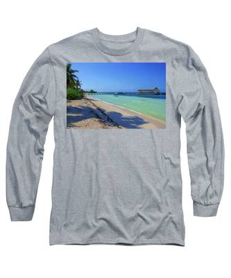 Jetty On Isla Contoy Long Sleeve T-Shirt