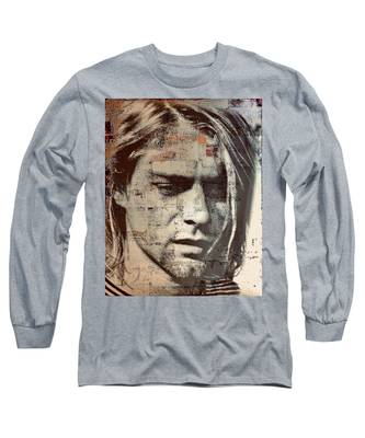 Kurt Cobain Long Sleeve T-Shirt