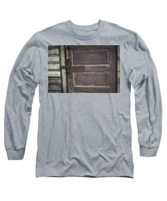 Leather Door Long Sleeve T-Shirt
