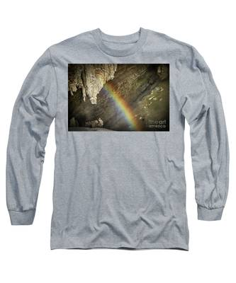 Rainbow At Letchworth Long Sleeve T-Shirt