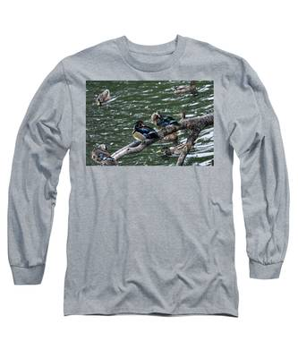 Ducks Long Sleeve T-Shirts
