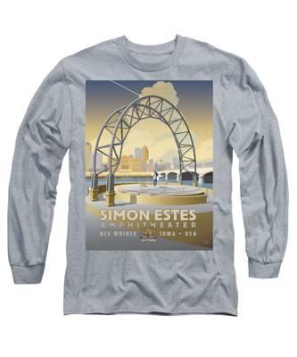Simon Estes Amphitheater Long Sleeve T-Shirt