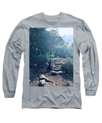 Steps To Enlightenment  Long Sleeve T-Shirt