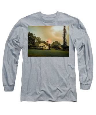 Sunrise Through The Haze Long Sleeve T-Shirt