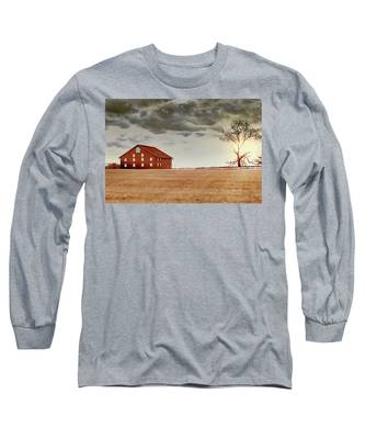 Sunset Barn Long Sleeve T-Shirt