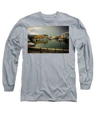 The Storm's A Coming. Long Sleeve T-Shirt