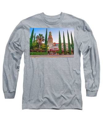 Tower Cafe Sunset- Long Sleeve T-Shirt