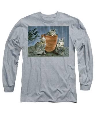 Tres Gatos Long Sleeve T-Shirt