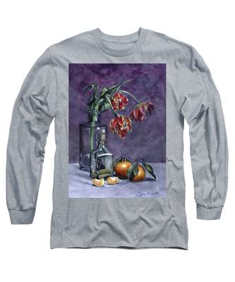 Tulips And Oranges Long Sleeve T-Shirt