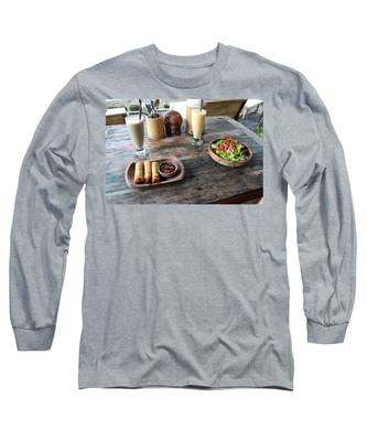 Bar Long Sleeve T-Shirts