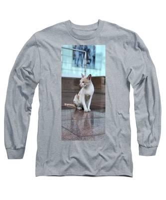 Cute Cat Long Sleeve T-Shirts