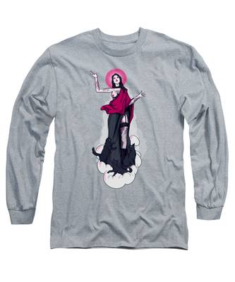 Virgin Mary Long Sleeve T-Shirts