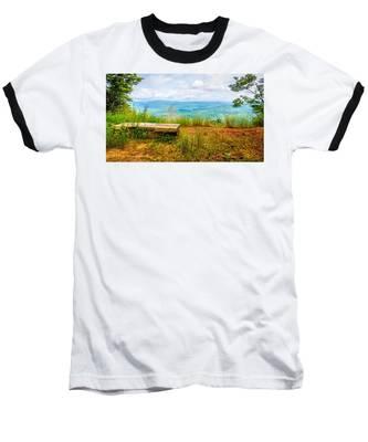 Scenery Around Lake Jocasse Gorge Baseball T-Shirt