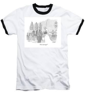 First Marriage? Baseball T-Shirt