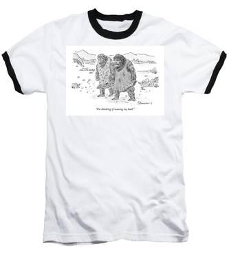 I'm Thinking Of Waxing My Back Baseball T-Shirt