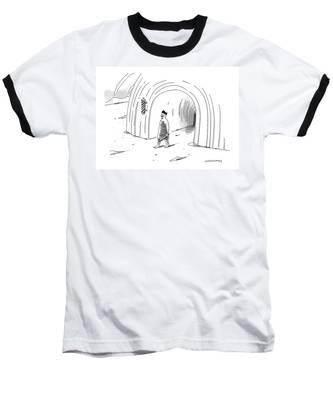A Neatly Groomed Baseball T-Shirt