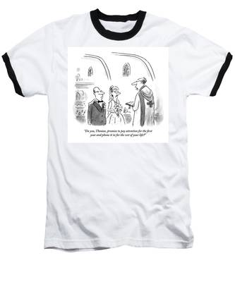A Wedding Is Happening. The Bride Baseball T-Shirt