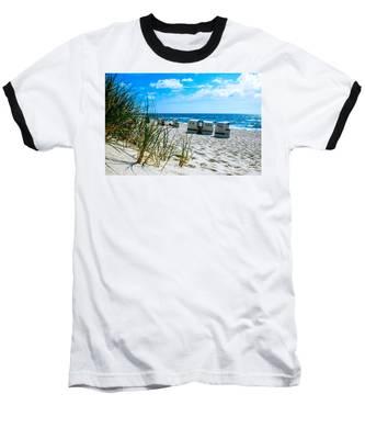 Behind The Dunes -light Baseball T-Shirt