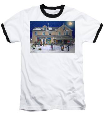 Faddens General Store In North Woodstock Nh Baseball T-Shirt