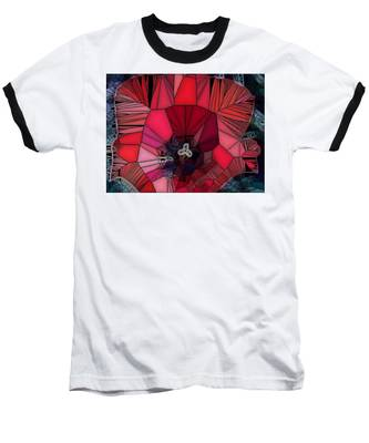 Fragile Flower Baseball T-Shirt