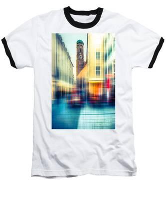 Frauenkirche - Munich V - Vintage Baseball T-Shirt