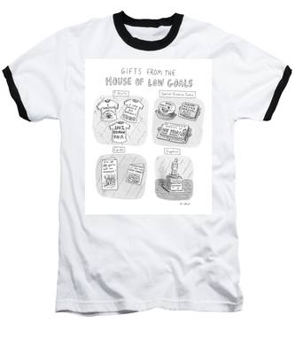Gifts From The House Of Low Goals Baseball T-Shirt