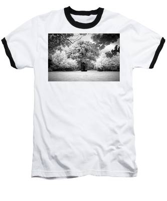Baseball T-Shirt featuring the photograph Infrared Majesty by Andrea Platt