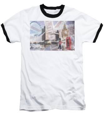 London Blue Baseball T-Shirt