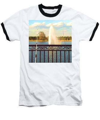 Man Made Rainbow Baseball T-Shirt