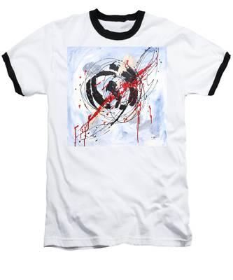 Musical Abstract 002 Baseball T-Shirt