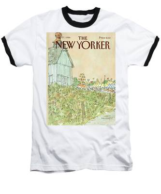 New Yorker August 27th, 1984 Baseball T-Shirt