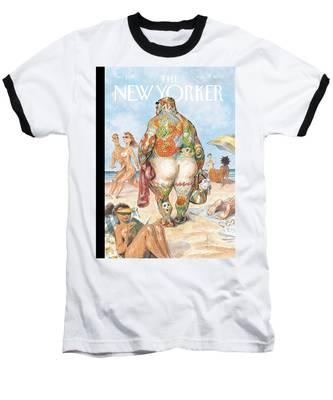 New Yorker August 29th, 2005 Baseball T-Shirt