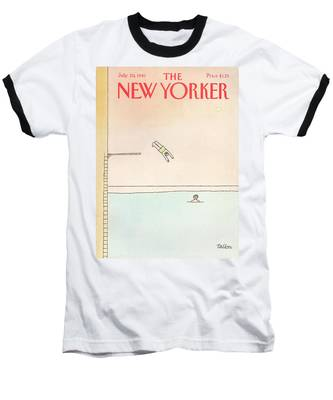 New Yorker July 20th, 1981 Baseball T-Shirt