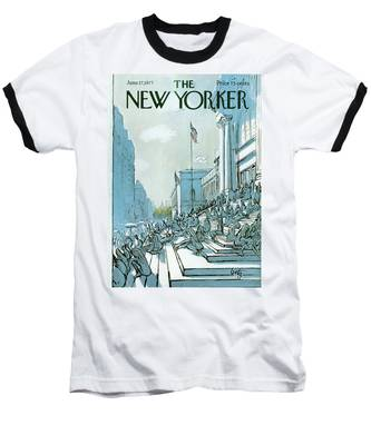 New Yorker June 27th, 1977 Baseball T-Shirt