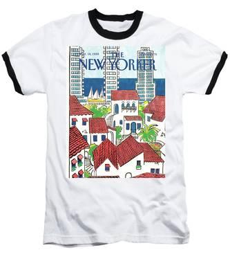 New Yorker March 14th, 1988 Baseball T-Shirt
