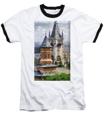 Palace Of Culture Baseball T-Shirt