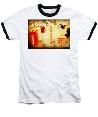 Peace And Joy To All Baseball T-Shirt